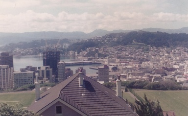 wellington from Kelburn 1982
