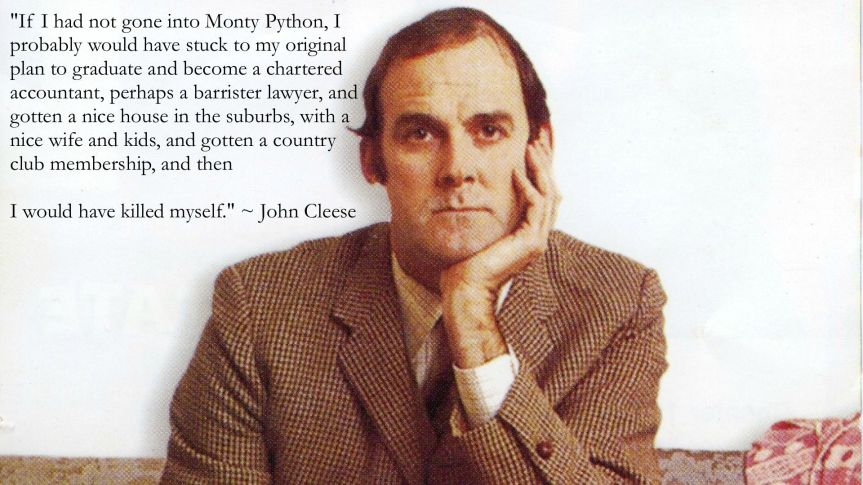 cleese quote